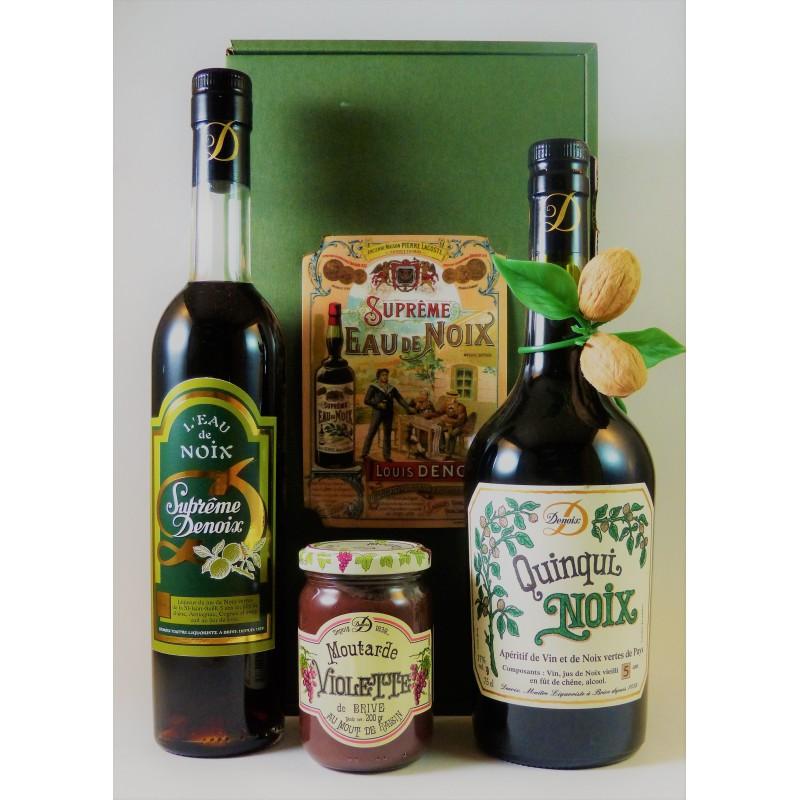 Liqueur et vin de noix - Moutarde violette
