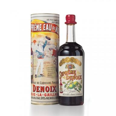 Suprême Denoix – 30% vol.- Bouteille 1900 et son étui - Maison Denoix