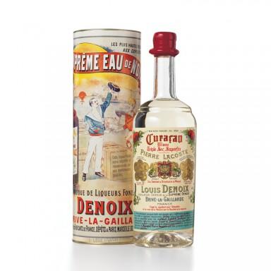 Le Curaçao collection 1900 - Etui tube décoré - 40% vol.