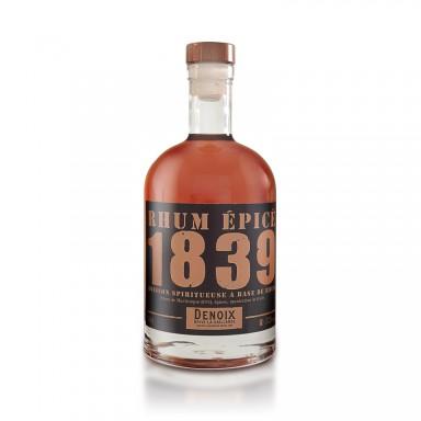Rhum épicé 1839 - 37,5% vol. - Maison Denoix